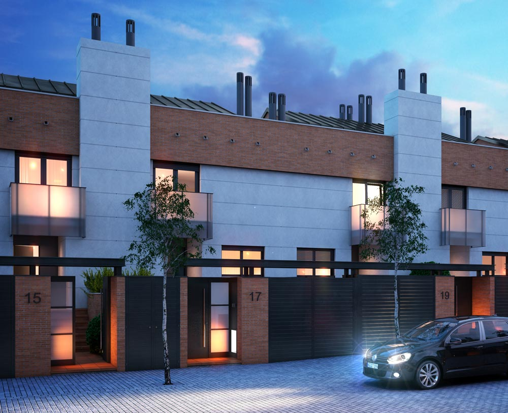 Townhouses in Madrid