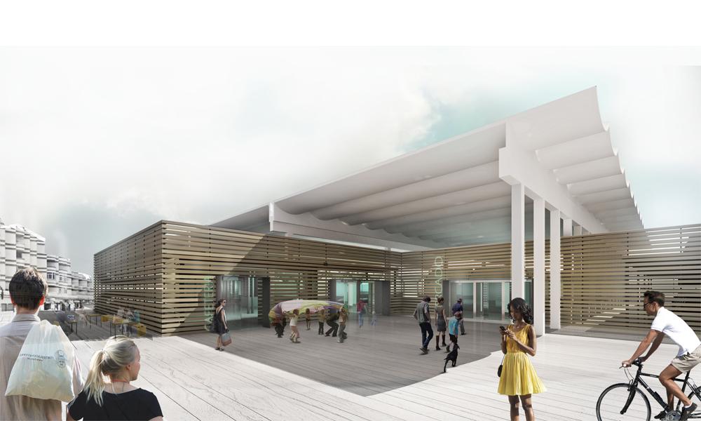 Public Market Rehabilitation Ooiio Architecture Archello