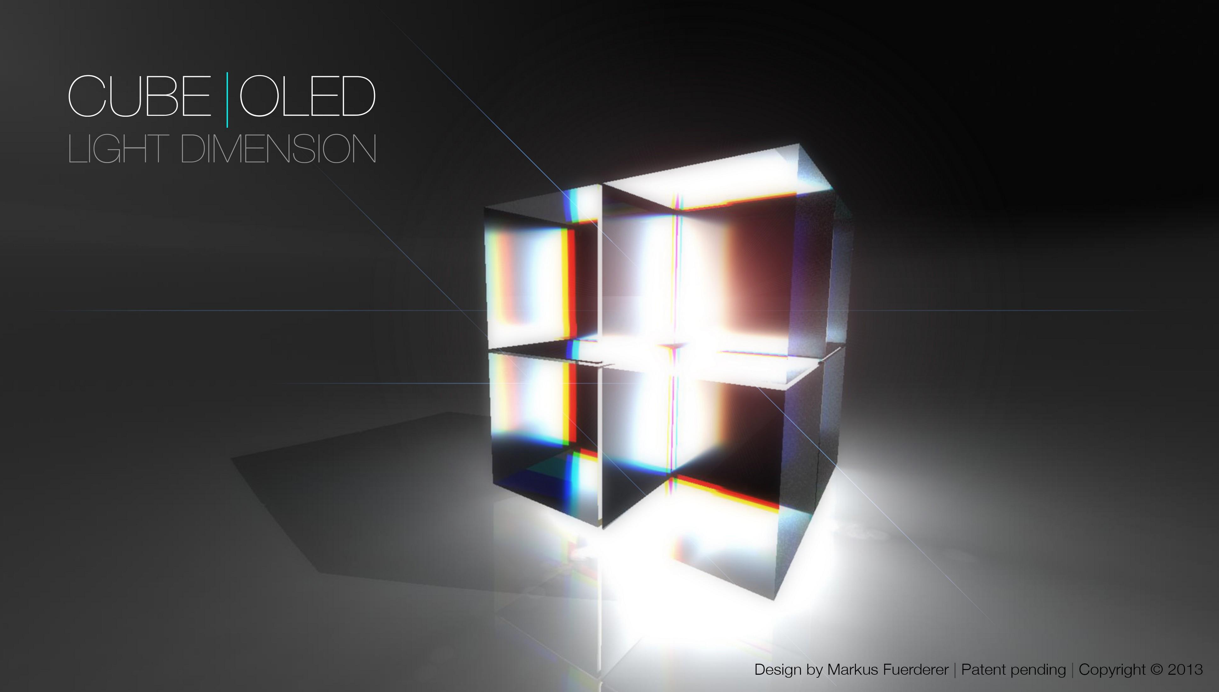 CUBE|OLED Rendering