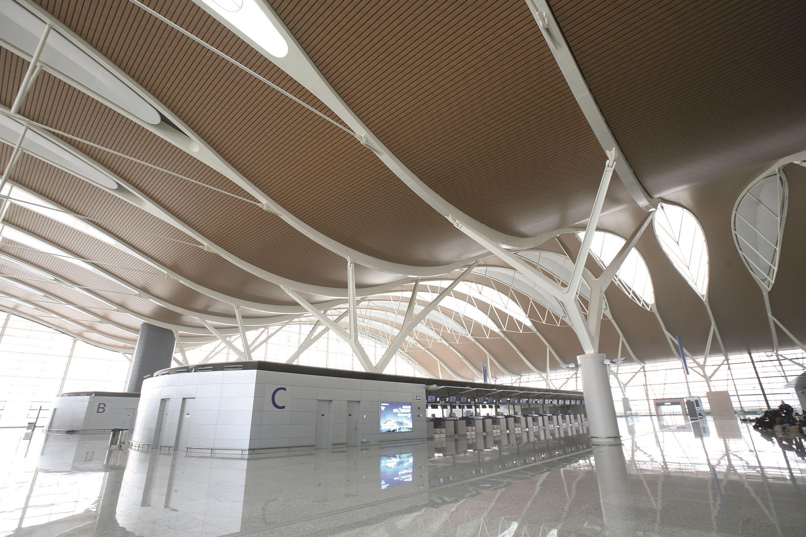 Pudong International Airport T2 Hunter Douglas