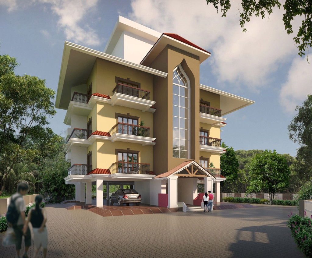 Attractive Horizons Solitaire   Affordable Luxury Homes In Goa