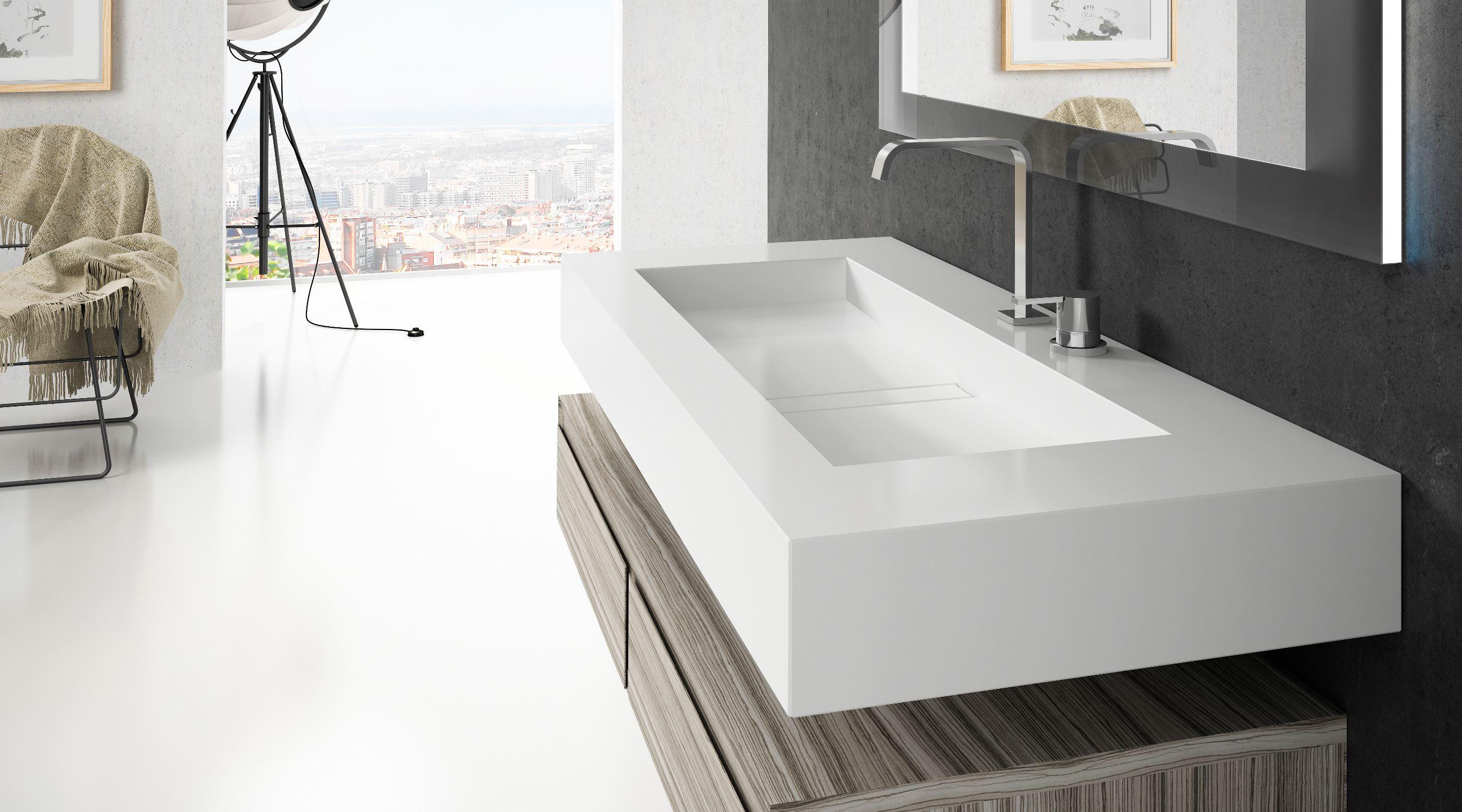 Silence and Reflection wash basins