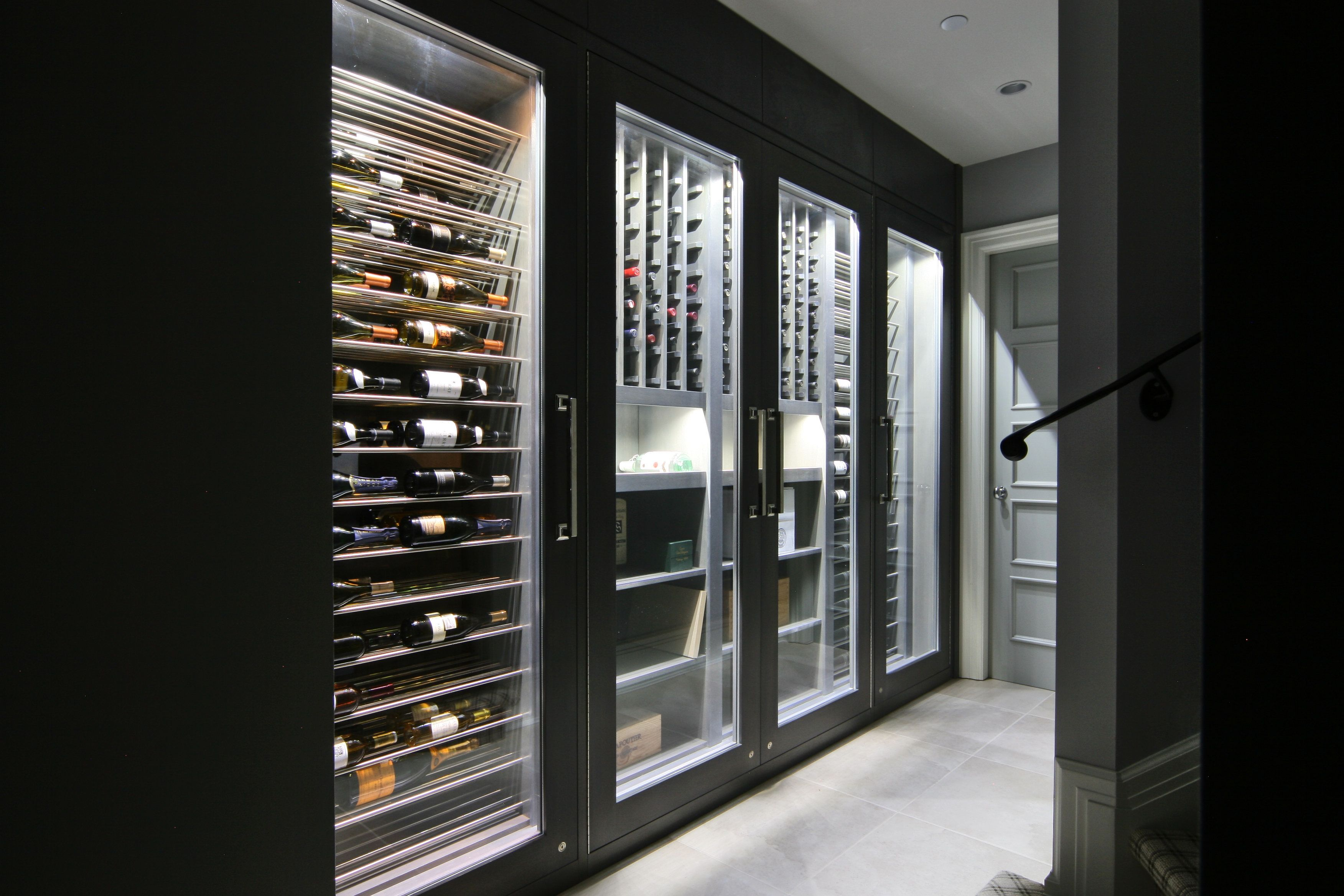 Vin De Garde Custom Modern Wine Fridge Vin De Garde