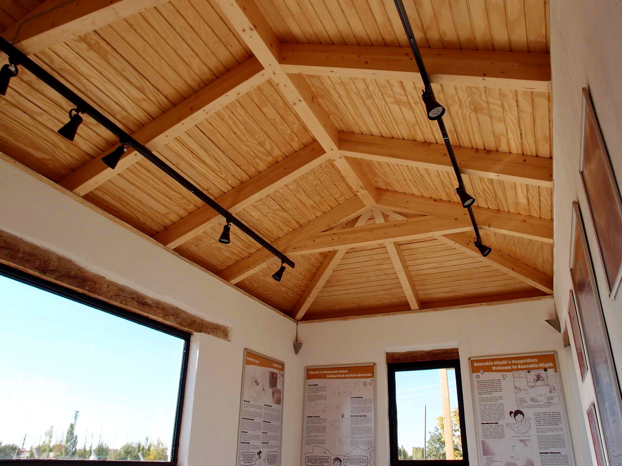 Archaeological Site Visitor Center Project Asmaz Timber