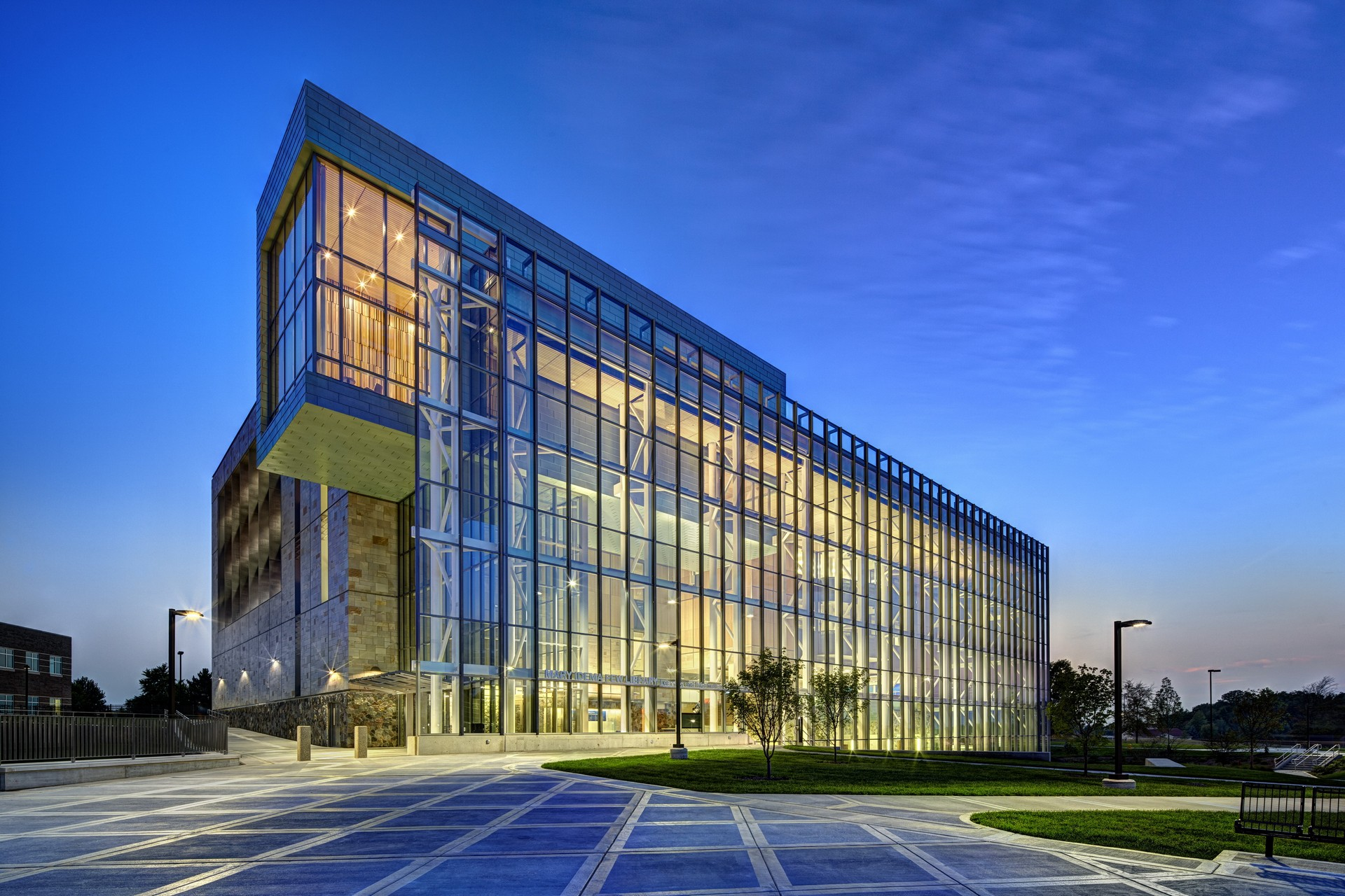 The stunning Mary Idema Pew Library