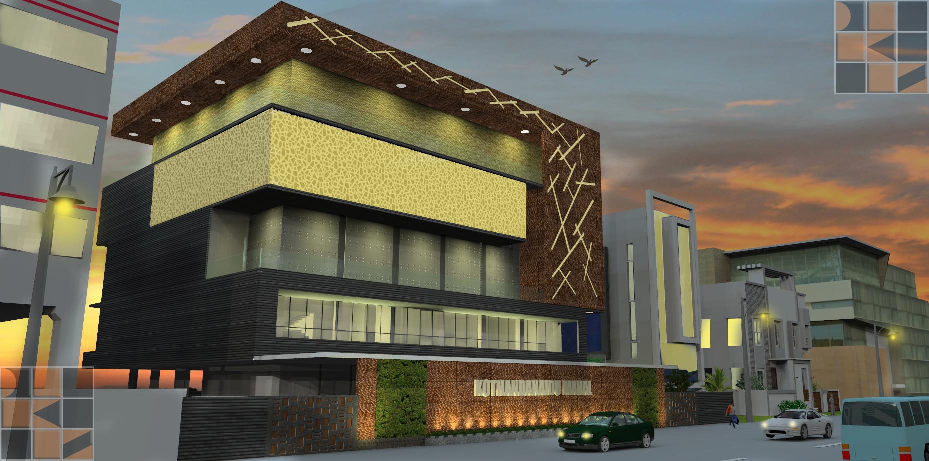 Marriage Hall Kalyanamandapam Kothandanaidu Mahal At Omr Chennai D Sign K Studio Pvt Ltd Architects Interiors Archello