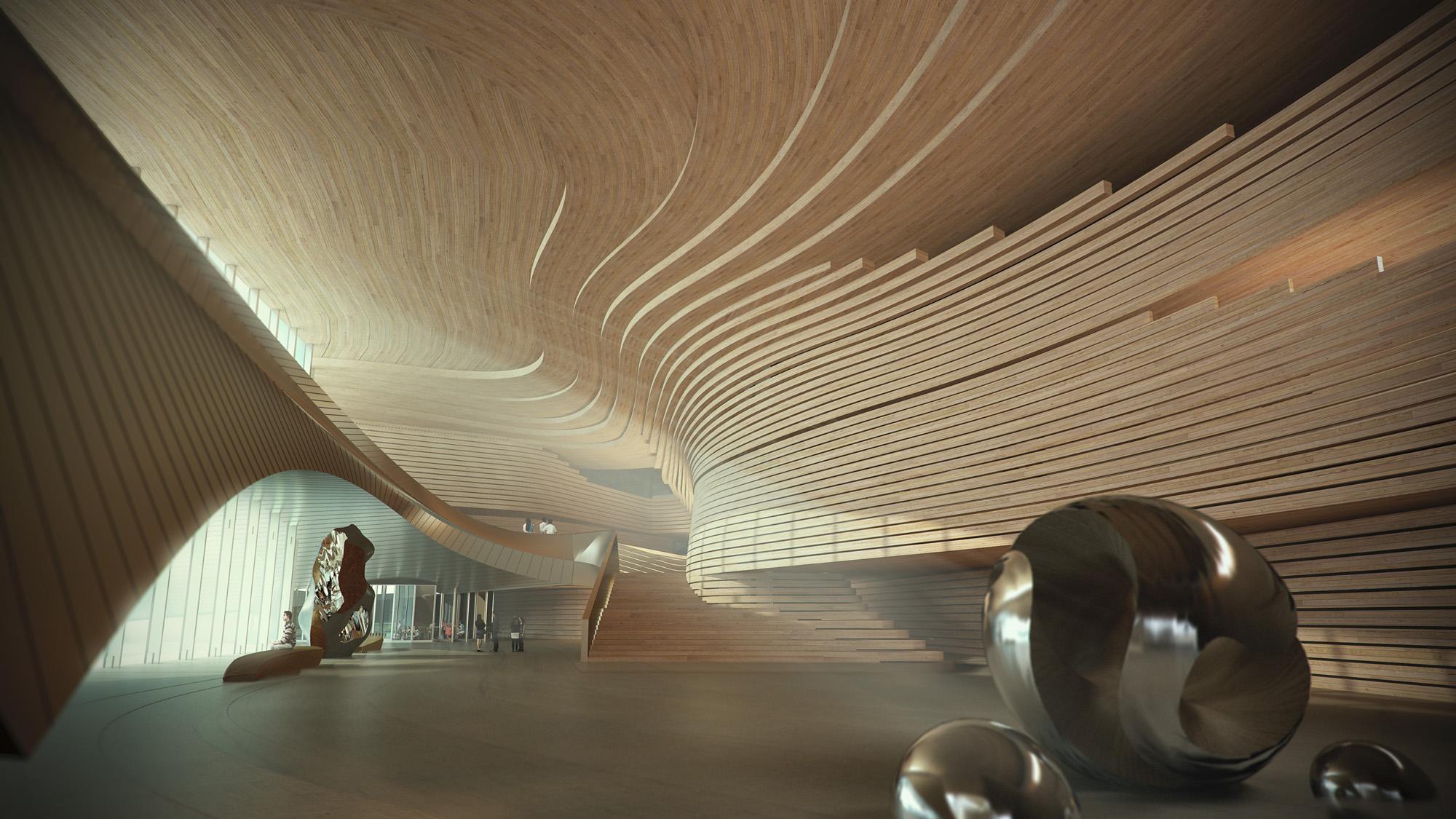 museum competition architecture zhuhai china cultural 10design archello architizer