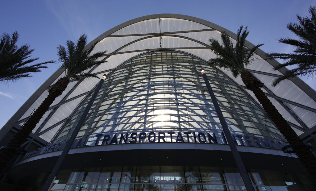 Anaheim Regional Transportation Intermodal Center Artic Hok