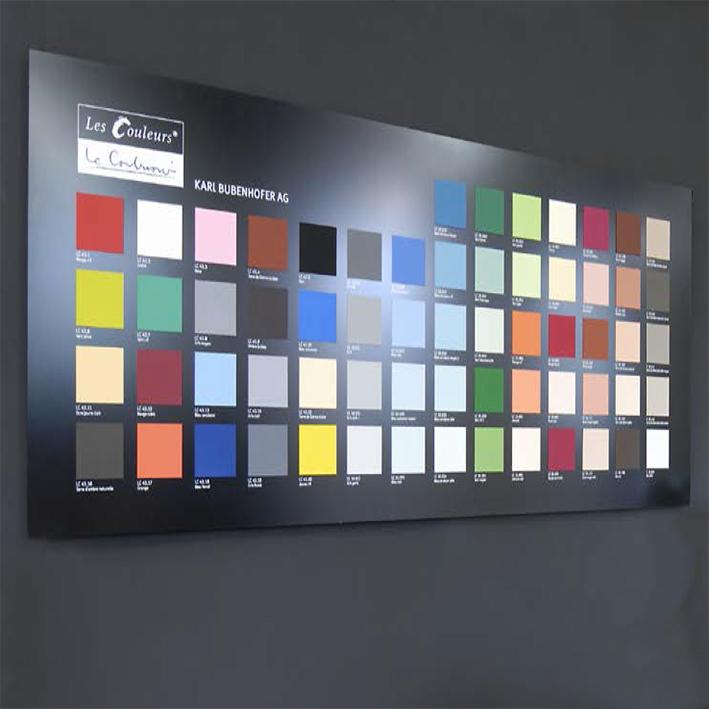 kabe farben le corbusier by karl bubenhofer archello. Black Bedroom Furniture Sets. Home Design Ideas
