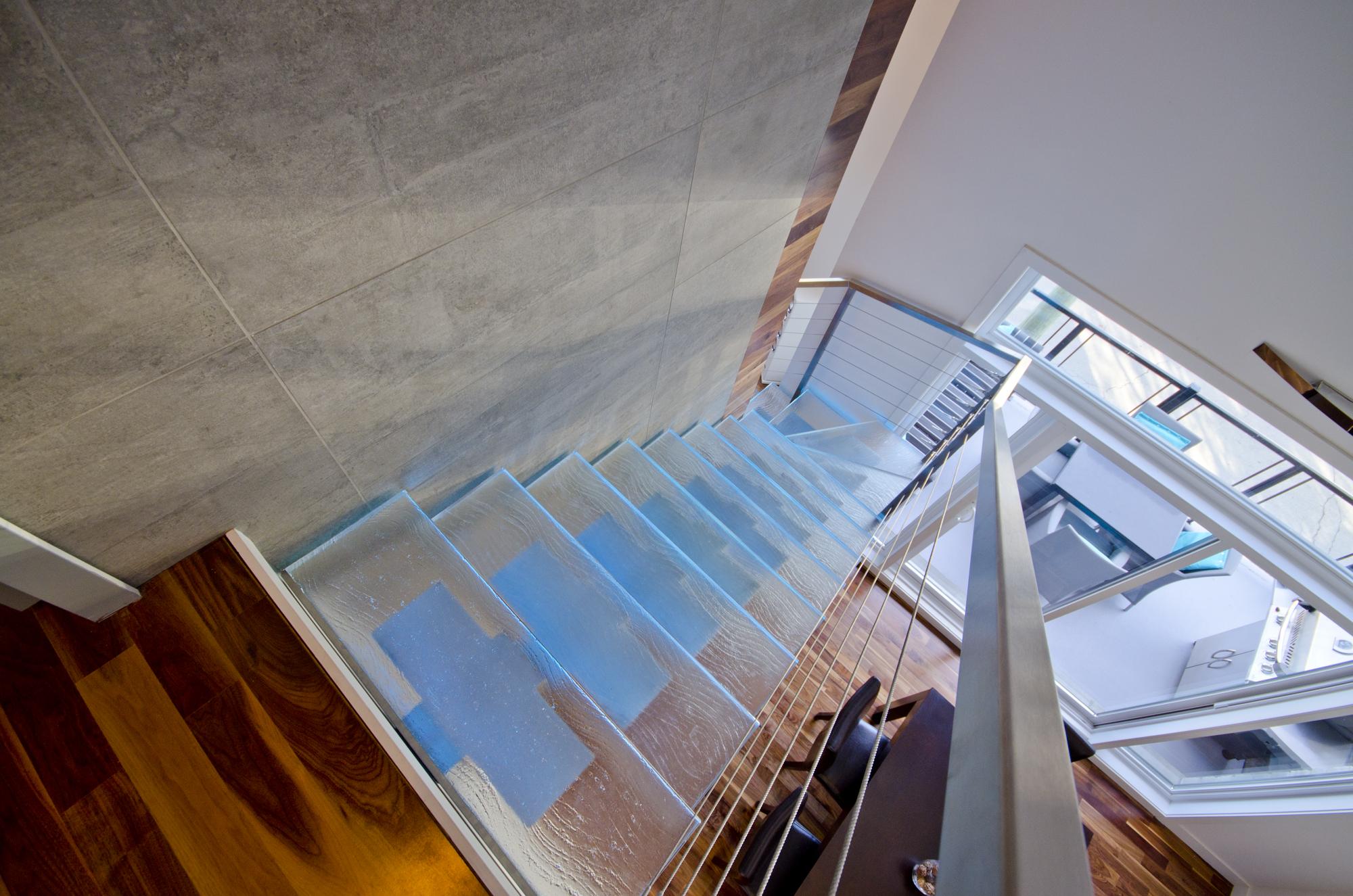 Escalier Point De Vue By Thinkglass Inc Archello