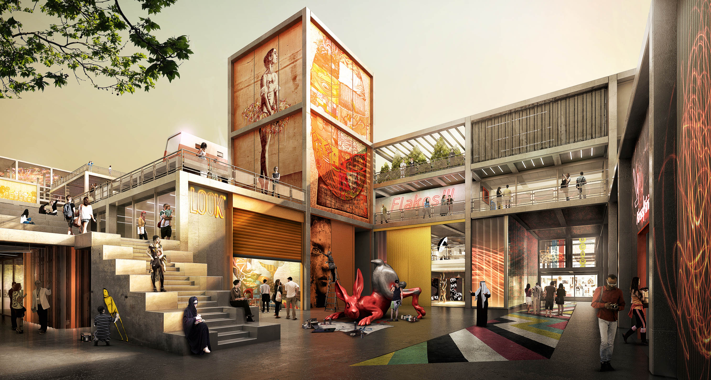 Dubai Design District Creative Community Foster Partners Archello