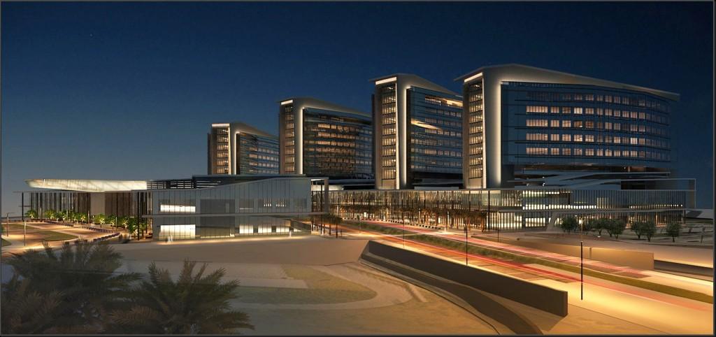 Al Mafraq Hospital Progress Profiles Spa Archello