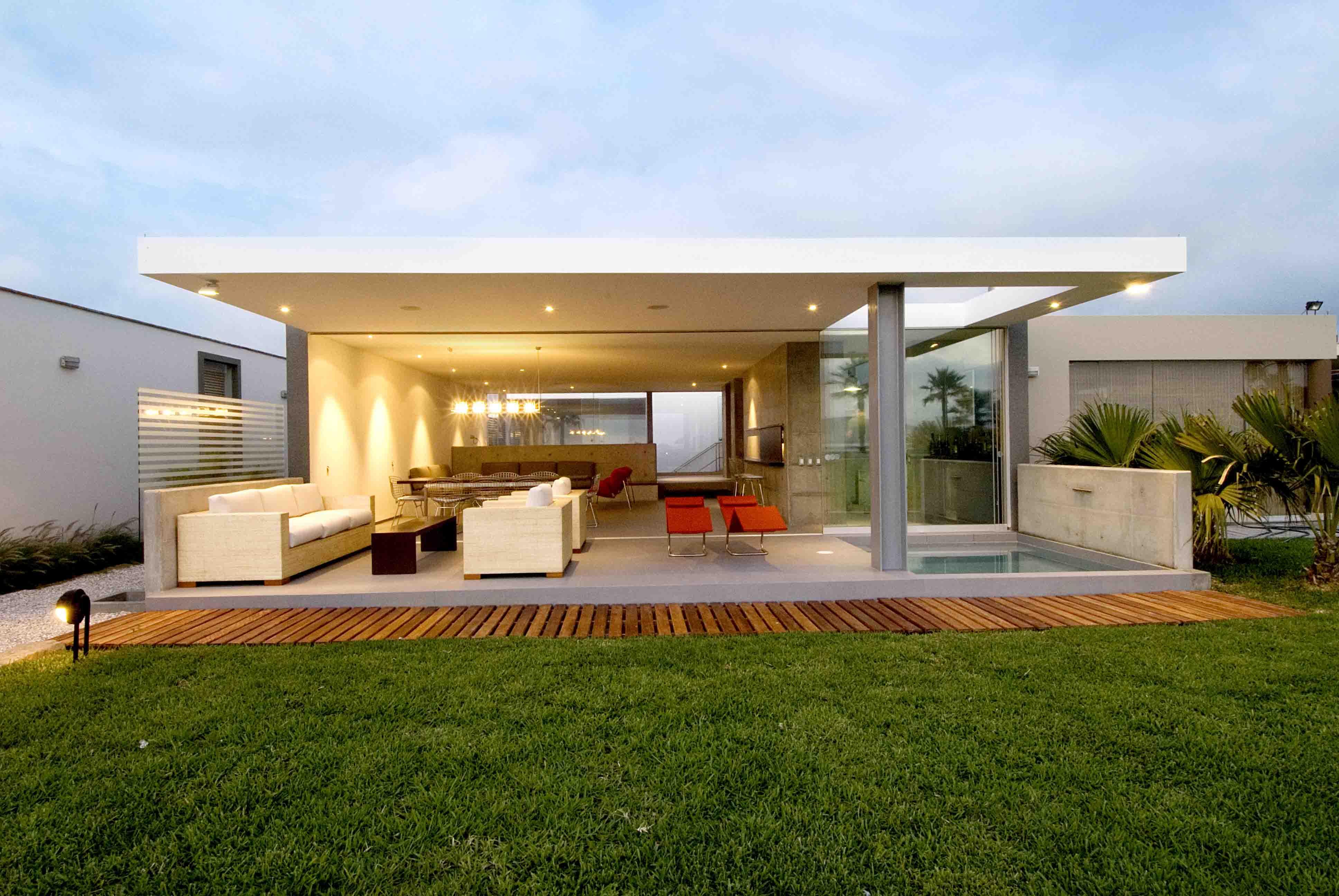 La isla beach house doblado arquitectos archello for Plantas de casas minimalistas