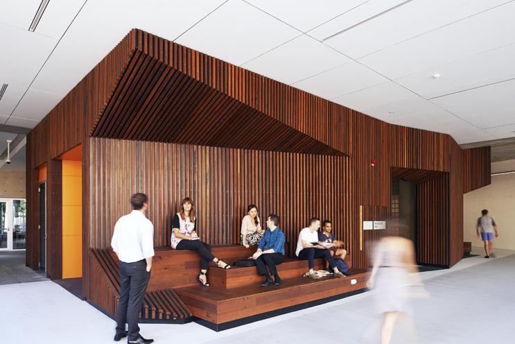 Queensland University Of Technology D Block Creative Industries School Of  Design | Dwp|suters Architecture + Interior Design | Archello