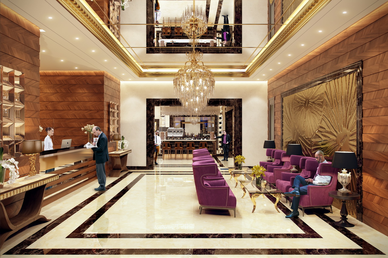 Hotel Reception: 3d Rendering | ARCHIVIZER | Archello