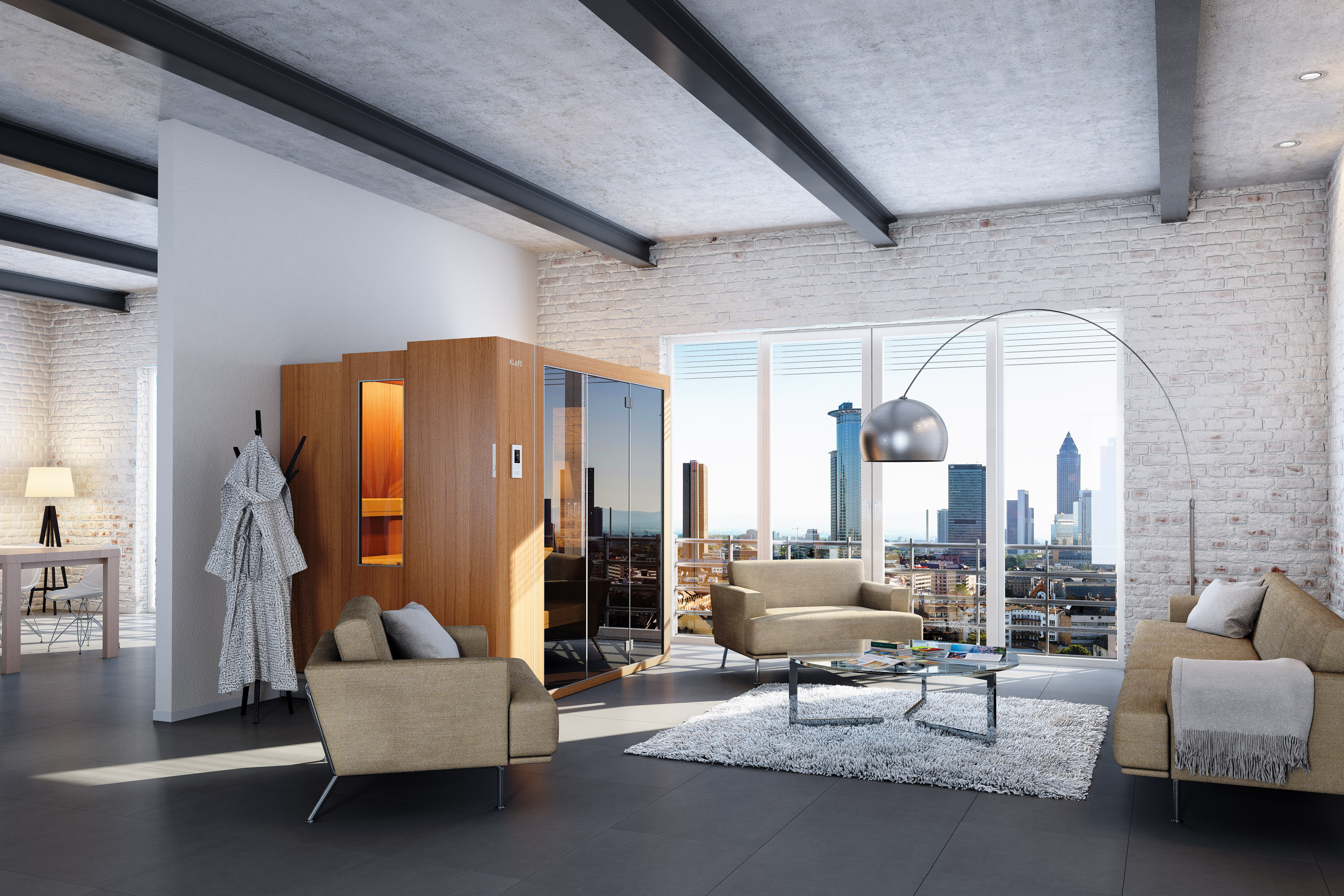 klafs sauna s1 by klafs gmbh co kg archello. Black Bedroom Furniture Sets. Home Design Ideas