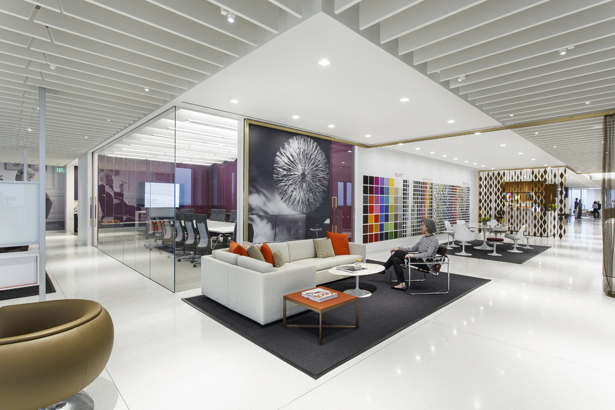 New showroom and offices for knoll architecture research - Houston interior design magazine ...