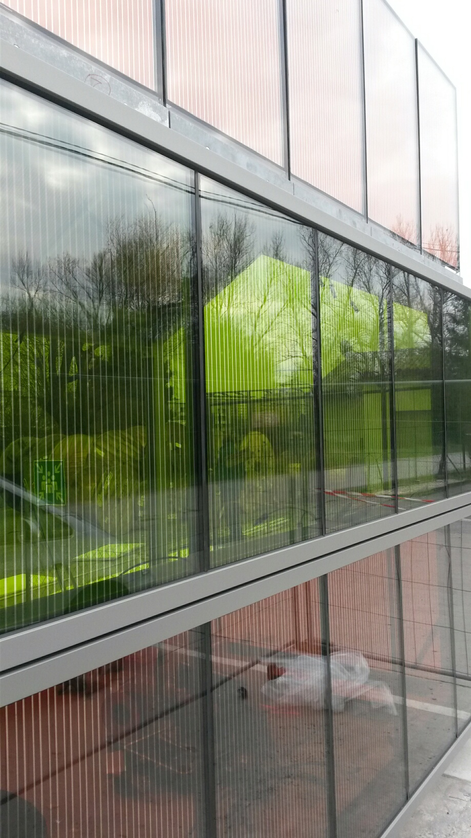 Bipv With Dssc Glass Modules By Glass2energy Archello