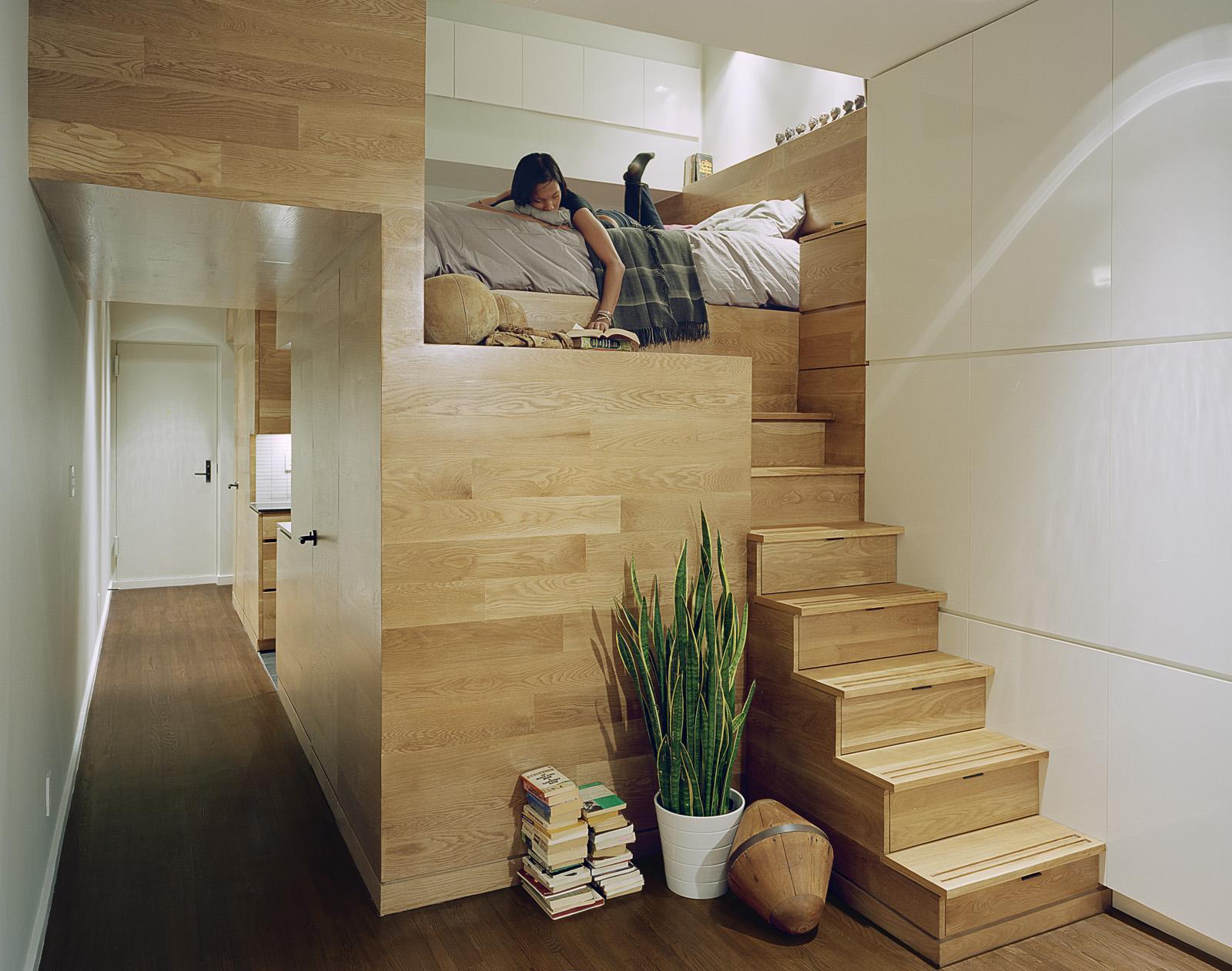 Nyc Shoebox Apartment East Village Studio Jordan Parnass Digital Architecture Jpda Archello