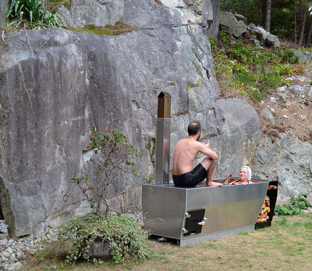 SOAK wood/propane fired outdoor soaking tub by ox + monkey design ...