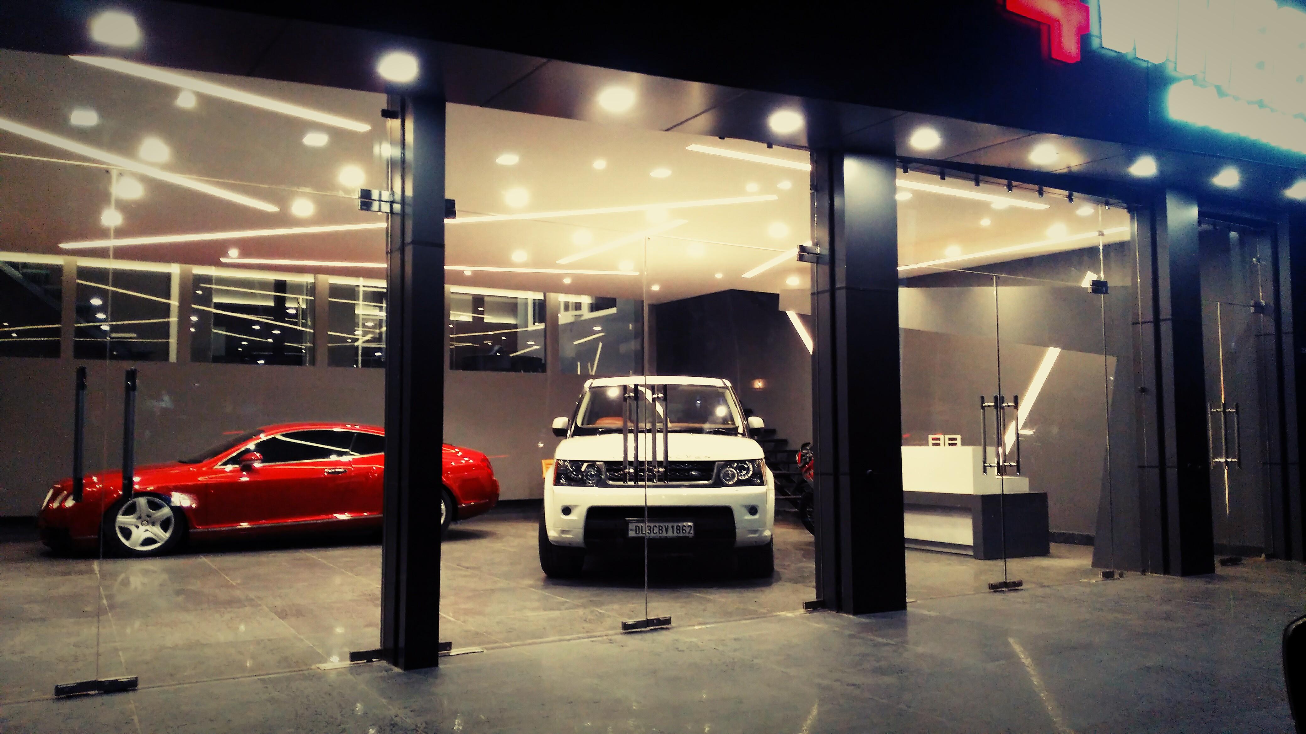 Four Wheels Car Showroom Urban Atelier Archello