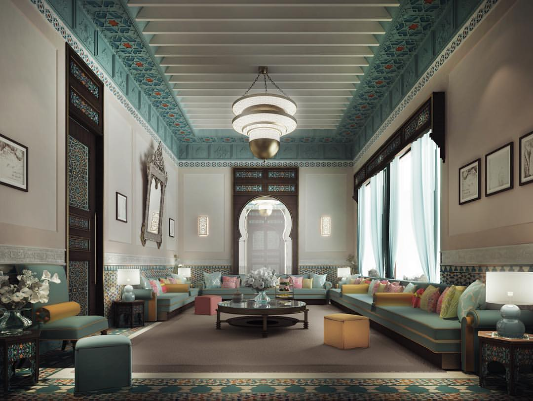 Ions Interior Design Dubai thriving legacy through luxurious moroccan majlis interior