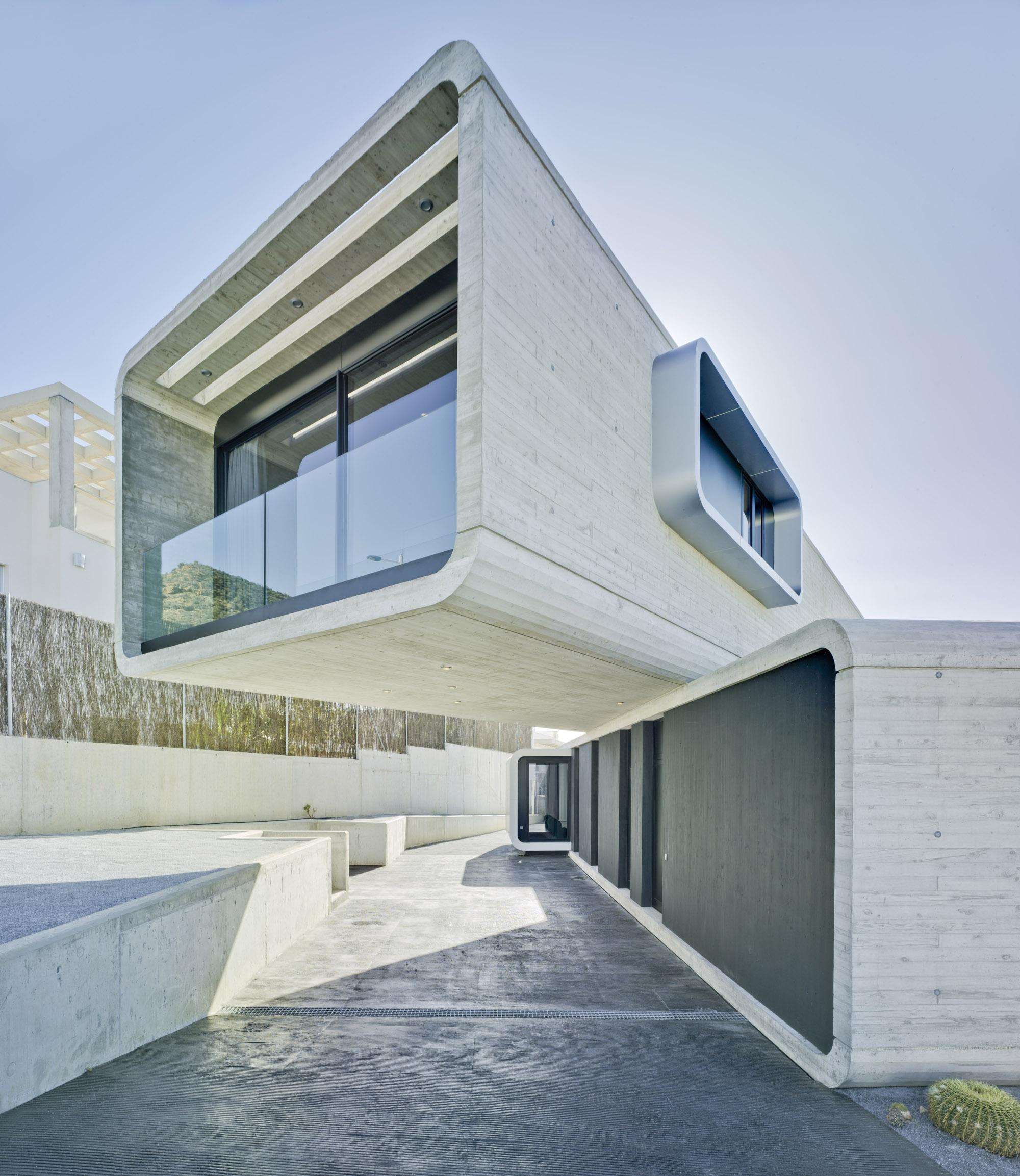 Casa cruzada crossed house clavel arquitectos archello - Clavel arquitectos ...