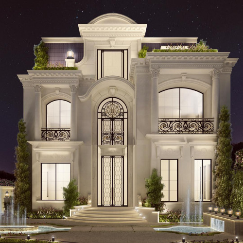 Front Elevation For Duplex : Ions design top interior firm in dubai