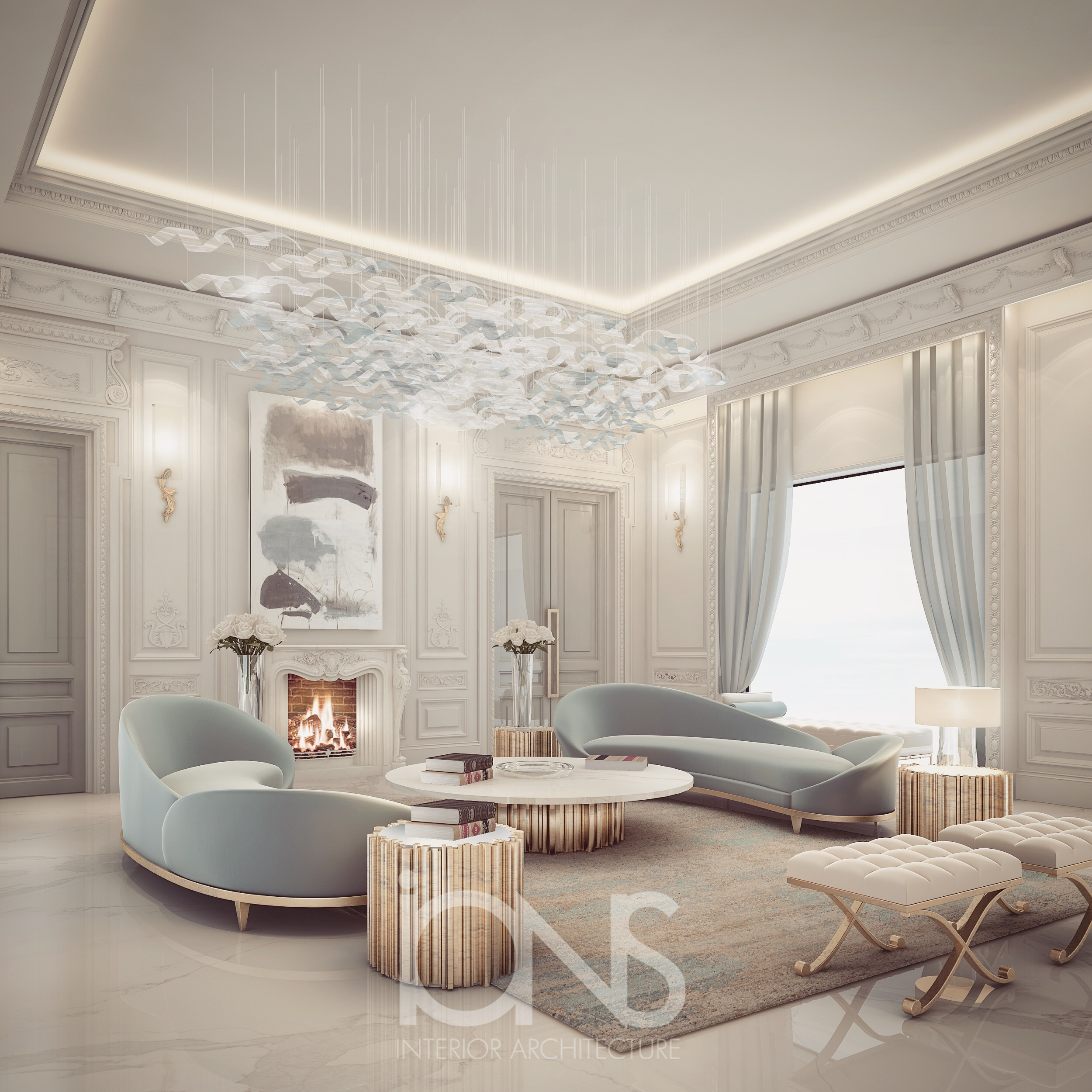 Ions Interior Design Dubai delightful sitting room design | ions design | archello