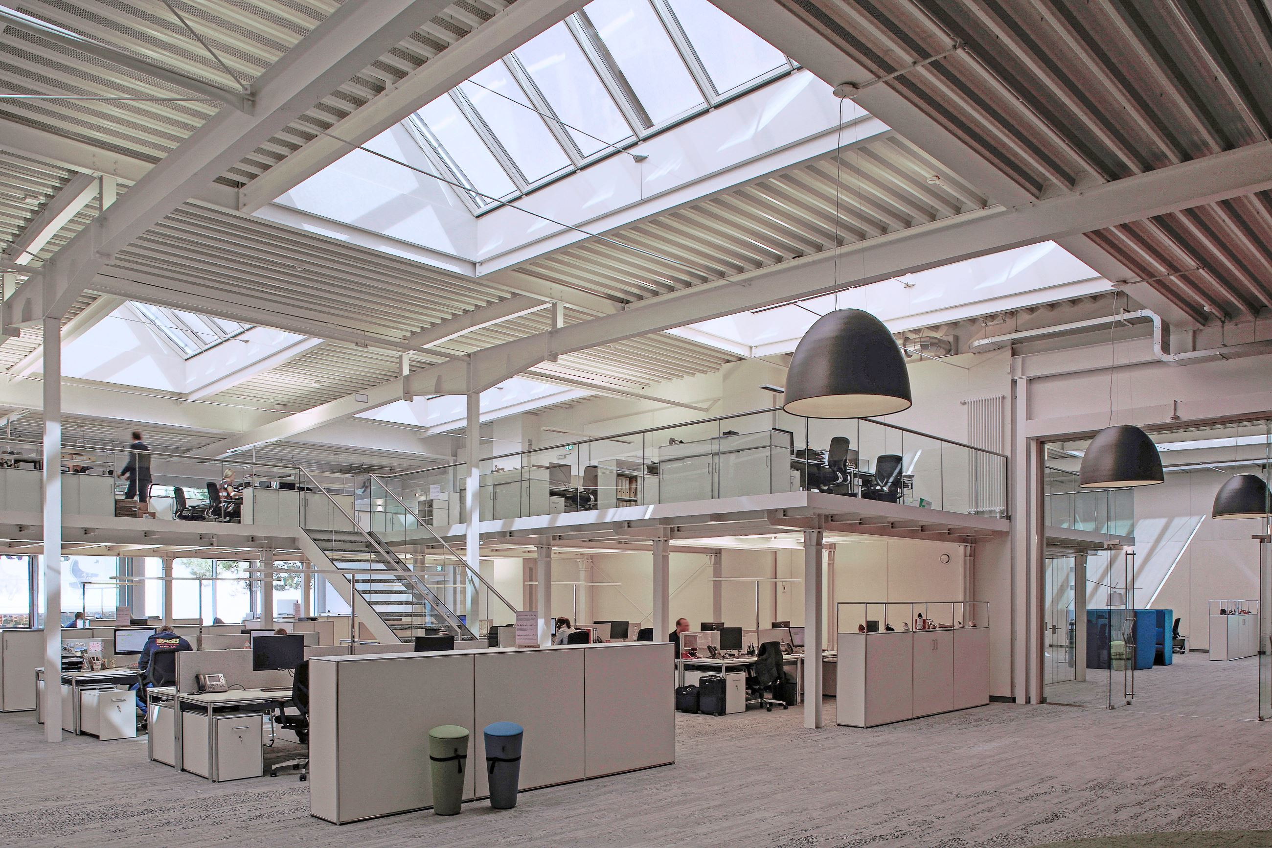 Conversion Of A Warehouse Into Loft Offices Renson