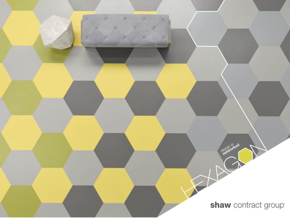 Level Hexagon Lvt By Shaw Contract Archello