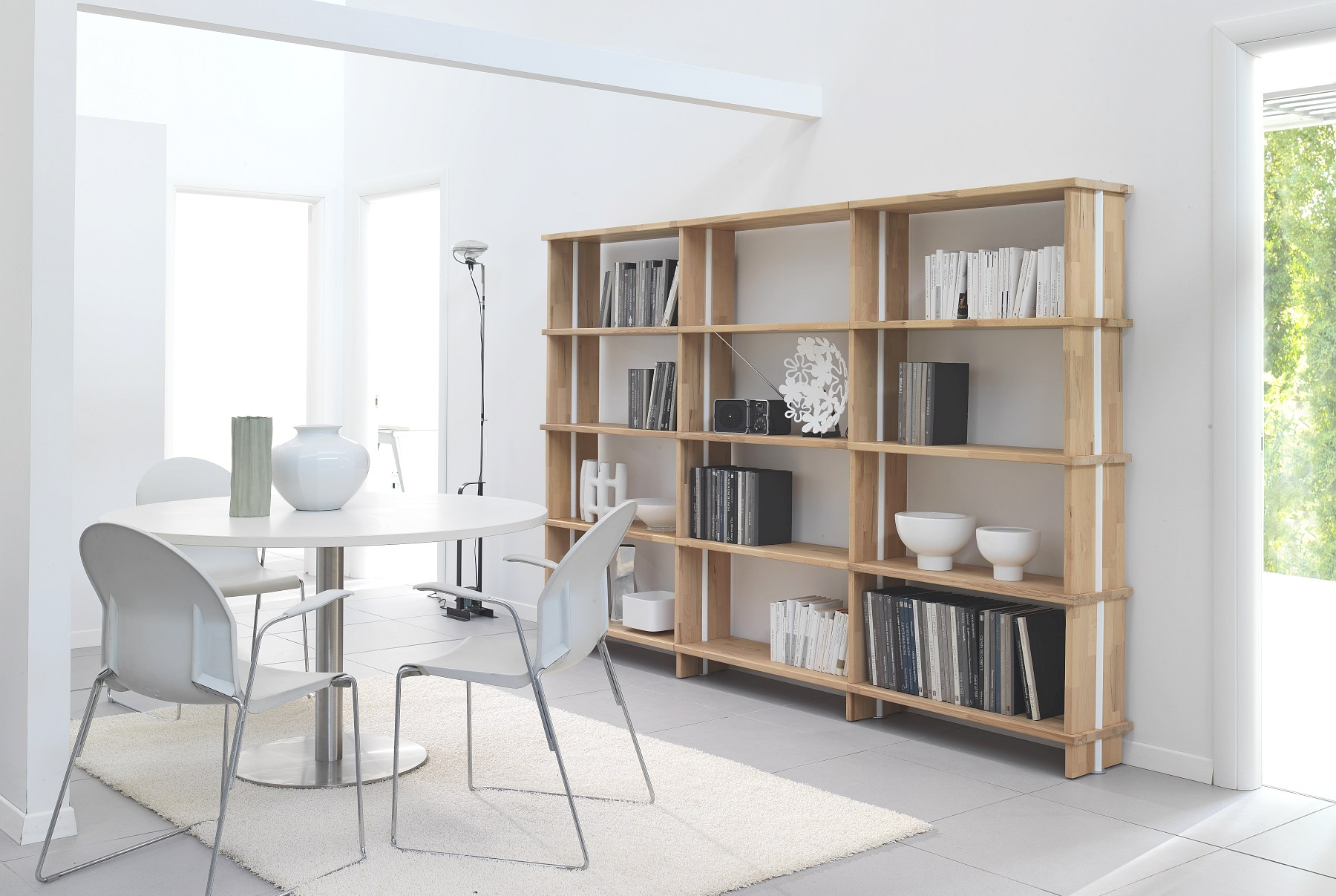 Nikka Woody Modular Bookcase By Piarotto Mobilie Snc