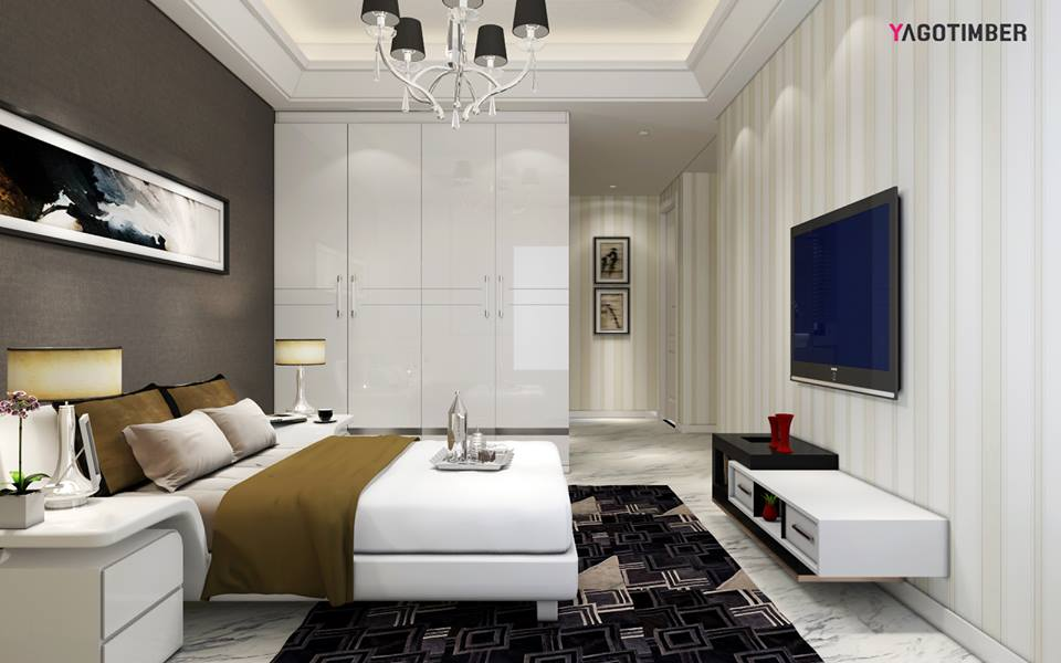 3 bhk apartment 3d design yagotimbercom archello - Bedroom 3d Design