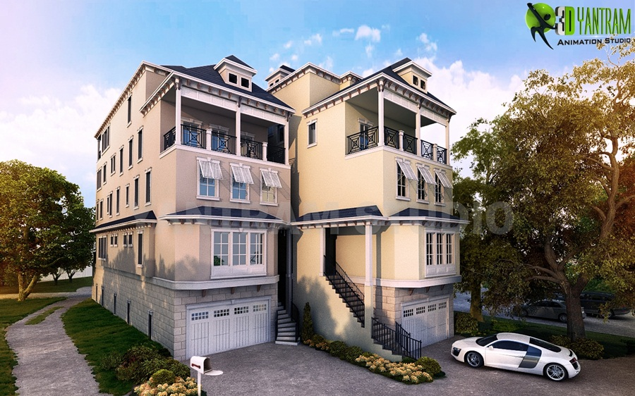 The Best feature present Architectural Houses Exterior Modeling ...