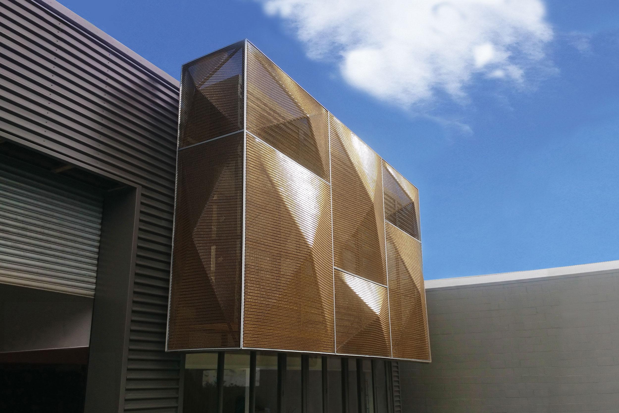 Ideal Electrical Building Facade