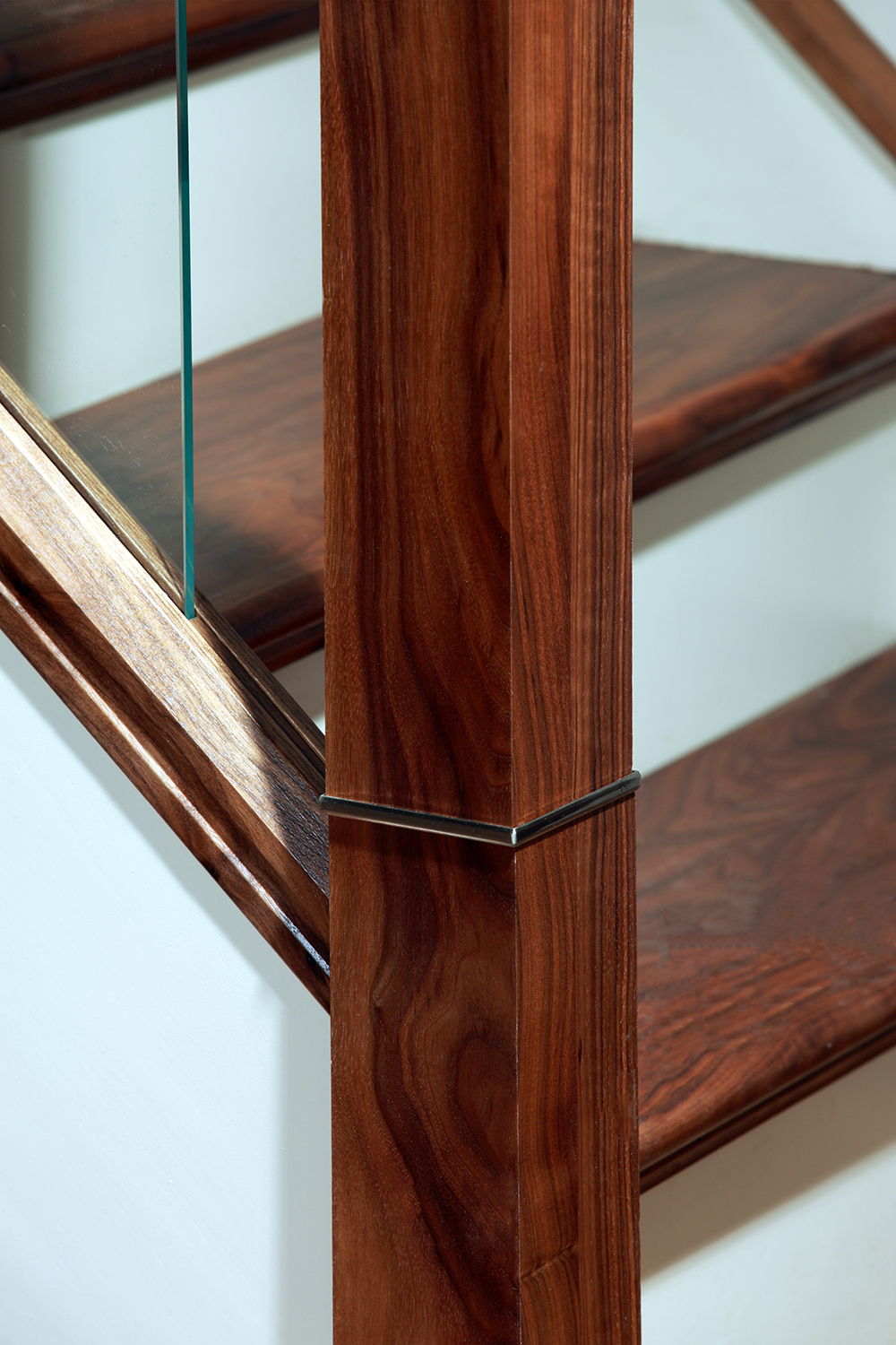 After picture: newel post and cap