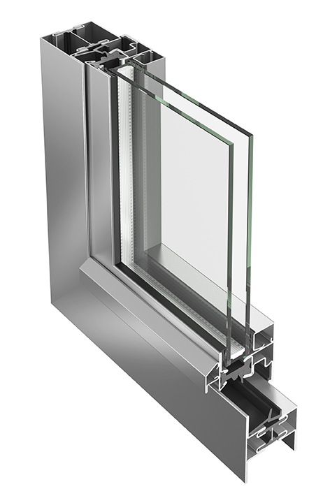 Jansen Janisol stainless steel window