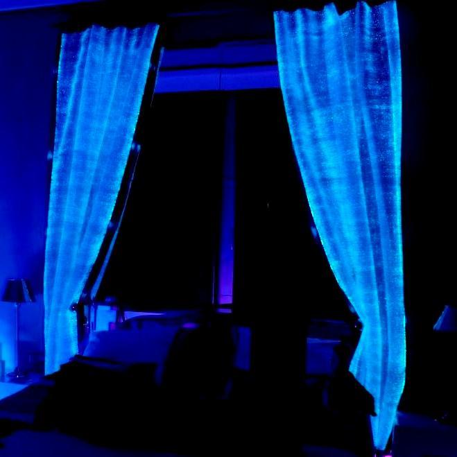 Luminous Fiber Optics Fabric By LumiGram SARL