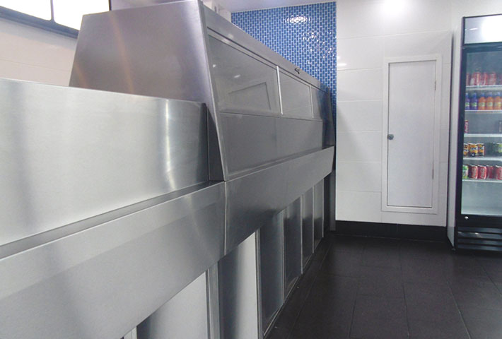 New Modern Stylish Look For A Fish And Chip Shop Barland Shop Fitters Media Photos And Videos 2 Archello