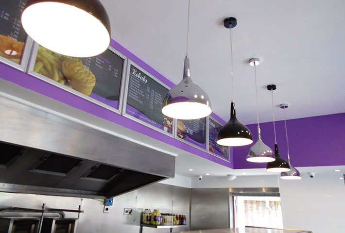 Image of renovated fish and chip shop