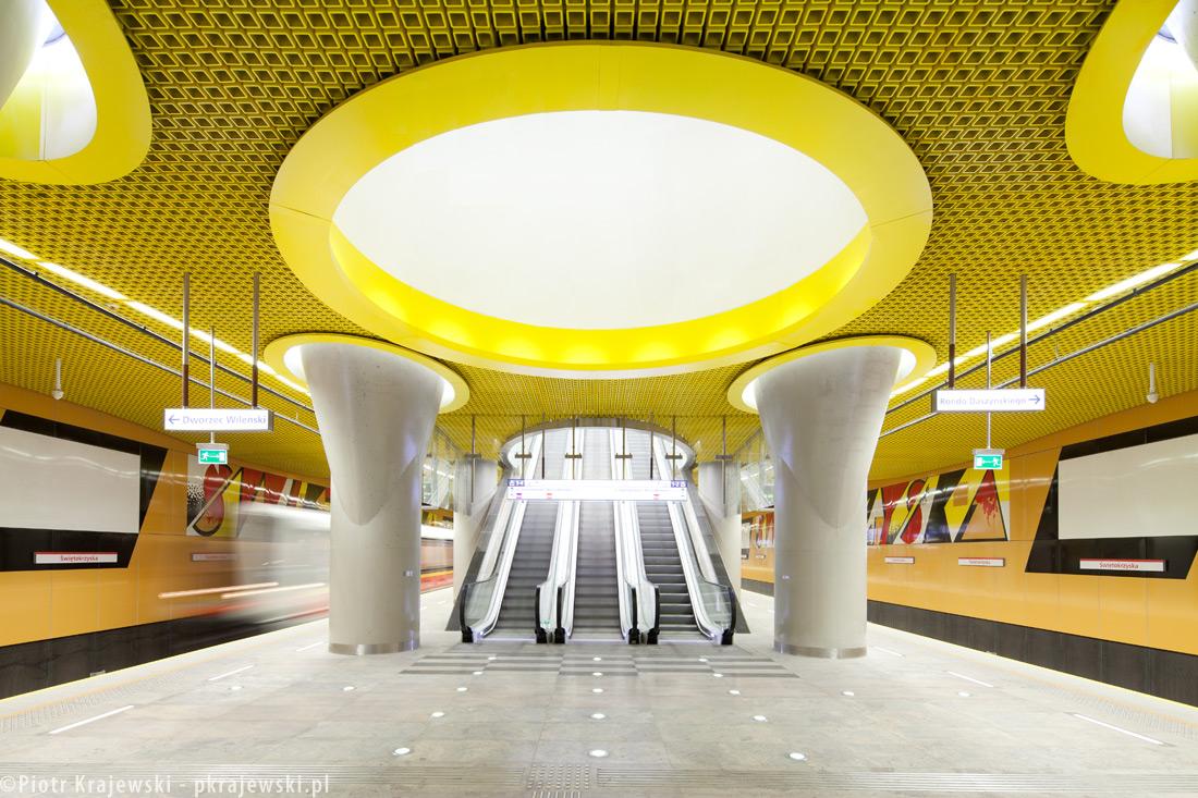 Metro Station Świętokrzyska Warsaw