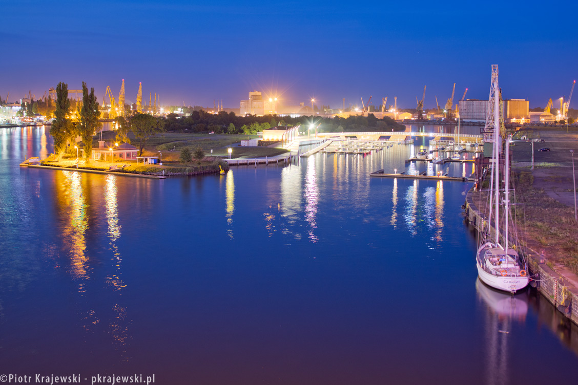 Marina in Szczecin
