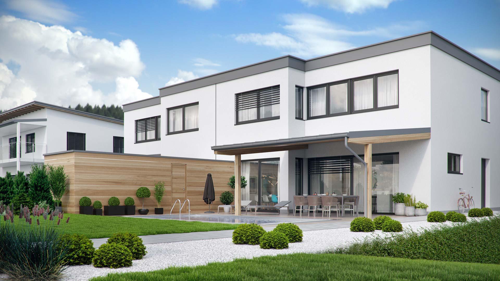 Modern Duplex House In Austria Viscato Media Photos And Videos 4 Archello