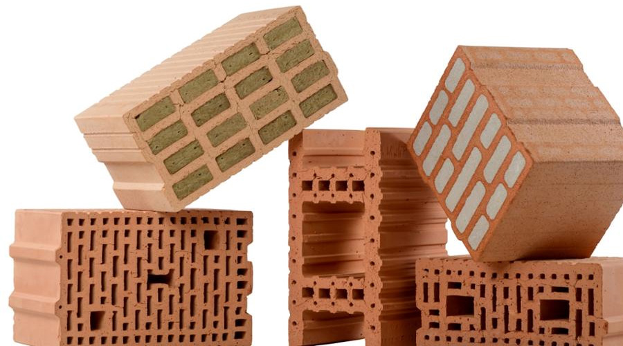 Clay building blocks