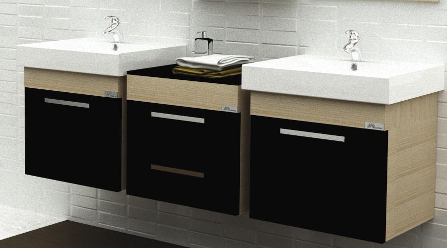 Washbasin cabinets