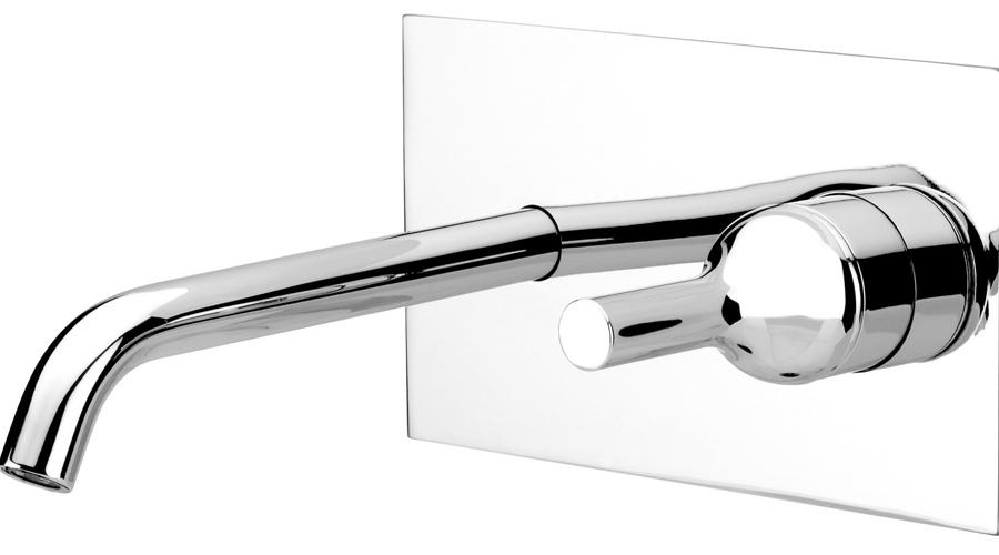 Shower double-handle mixer taps
