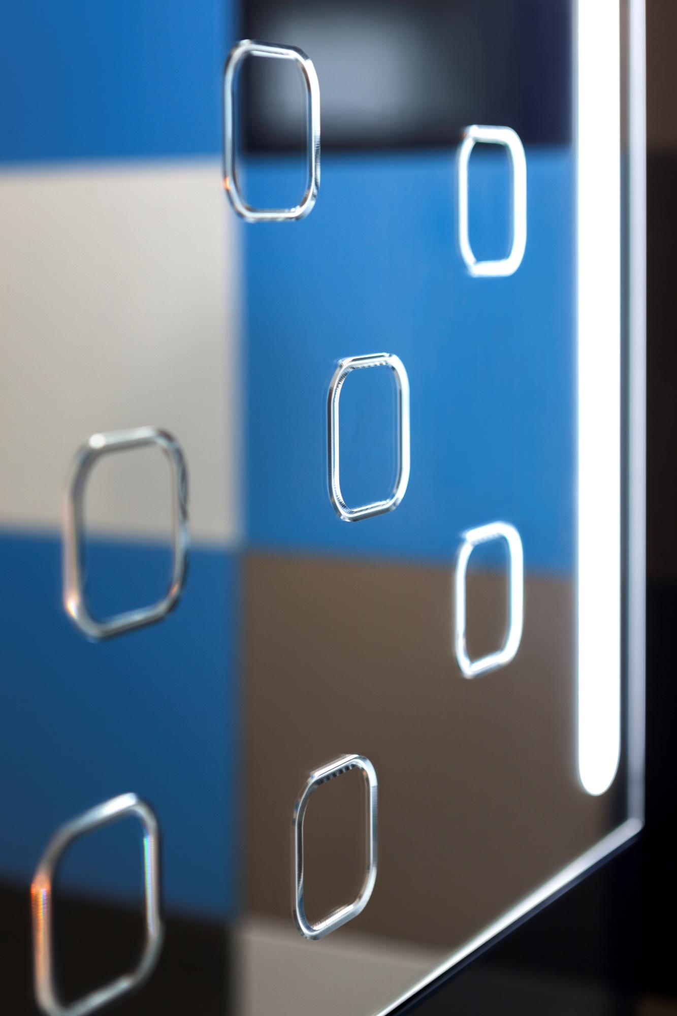 RAUVISIO crystal slim - mirror