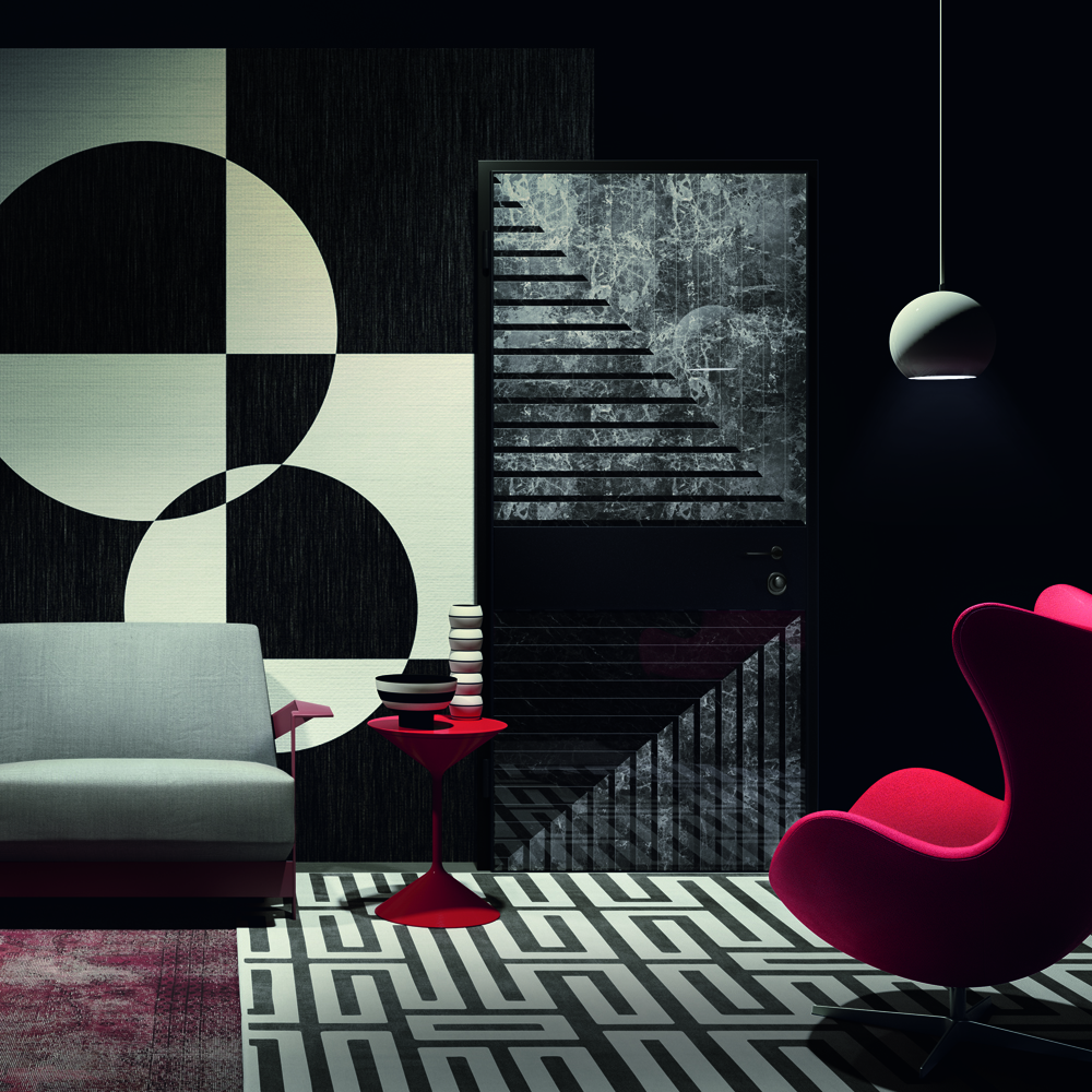 DESIGN AND HIGH FASHION FOR VIGHI'S DOOR
