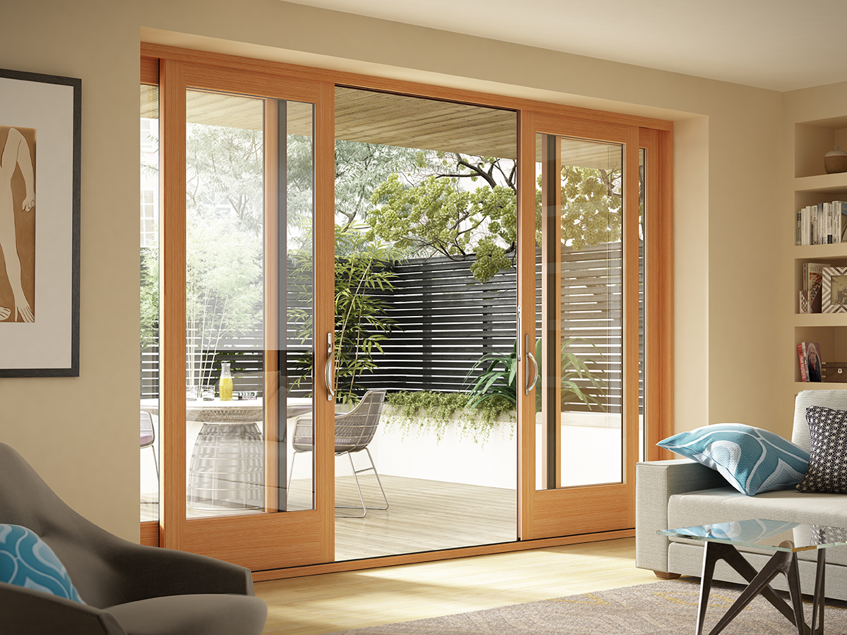 Essence Series 174 French Style Sliding Door By Milgard