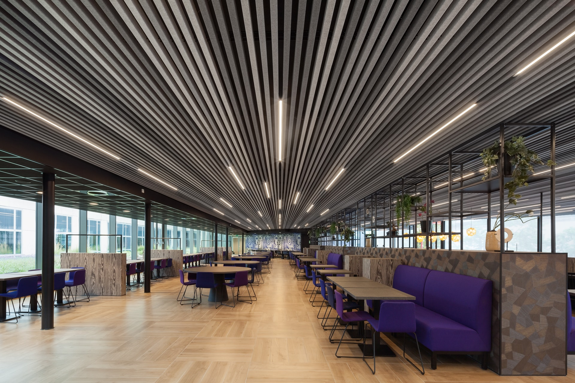 HeartFelt® - Textile Linear Ceilings Interior